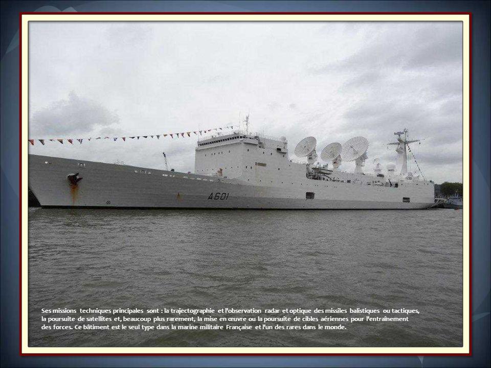 Ses missions techniques principales sont : la trajectographie et l observation radar et optique des missiles balistiques ou tactiques,