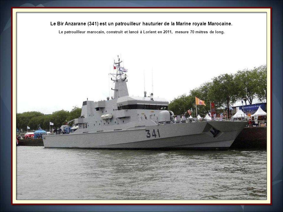 Le Bir Anzarane (341) est un patrouilleur hauturier de la Marine royale Marocaine.