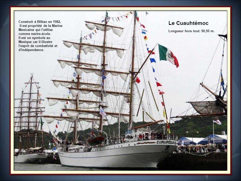 Le Cuauhtémoc Construit à Bilbao en 1982,