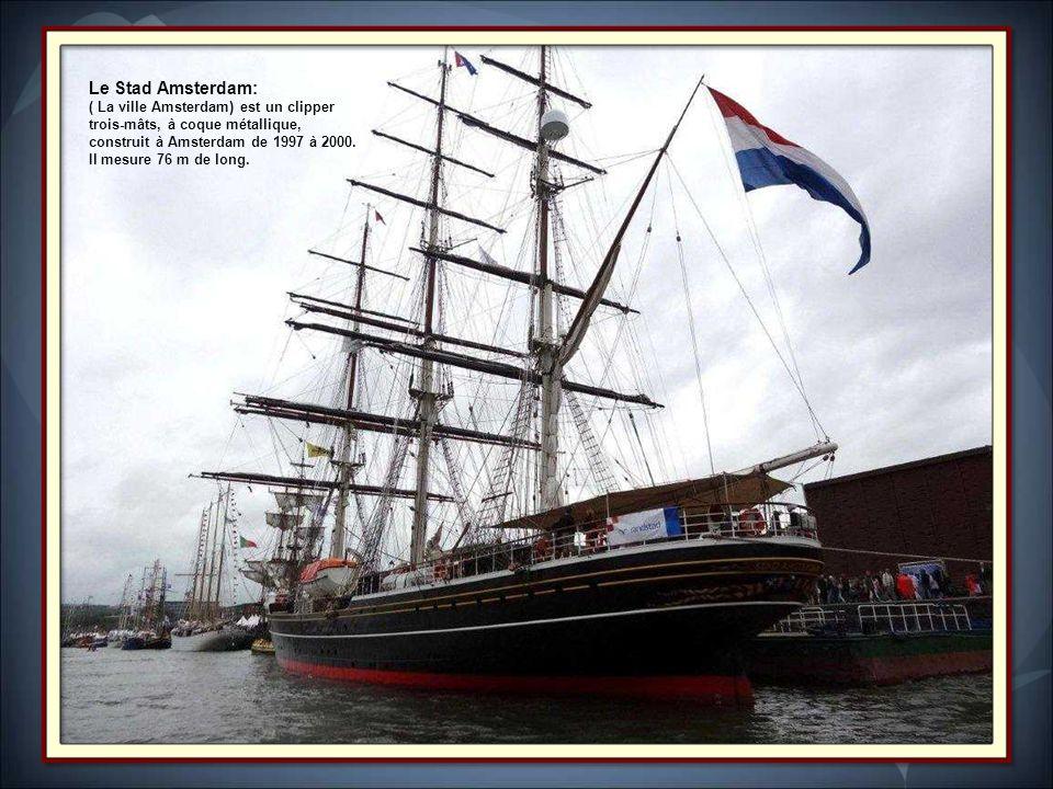 Le Stad Amsterdam: ( La ville Amsterdam) est un clipper