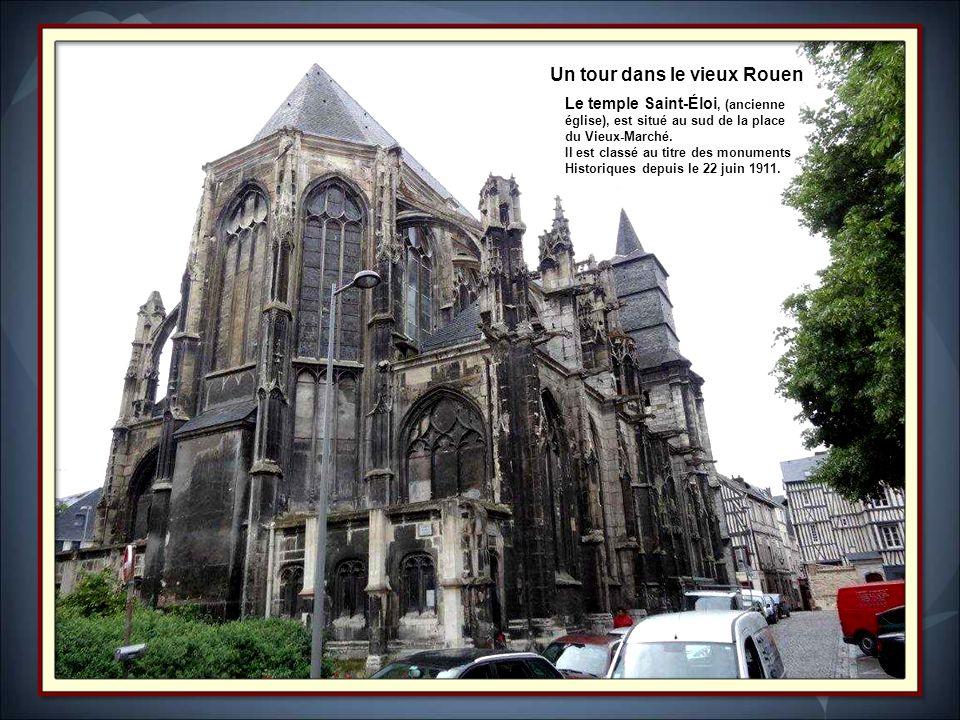 Un tour dans le vieux Rouen