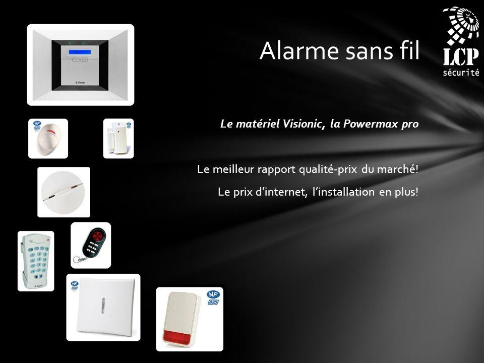 Alarme sans fil Le matériel Visionic, la Powermax pro