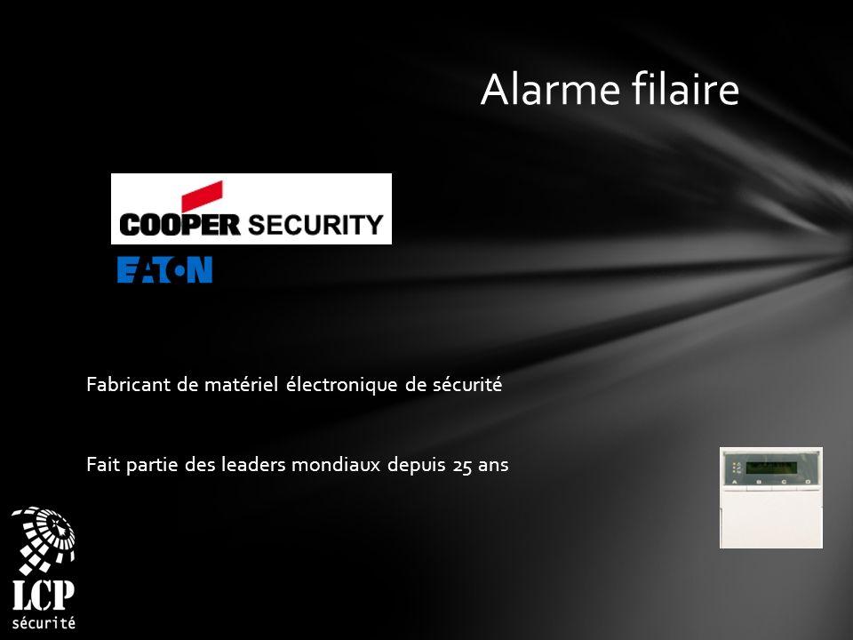 Alarme filaire Fabricant de matériel électronique de sécurité