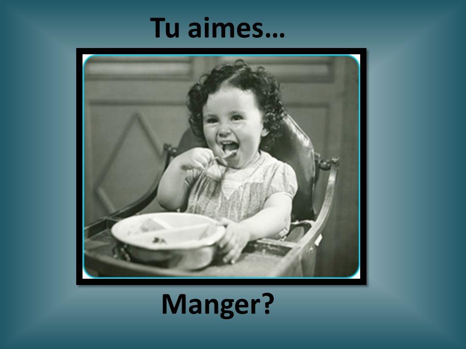 Tu aimes… Manger