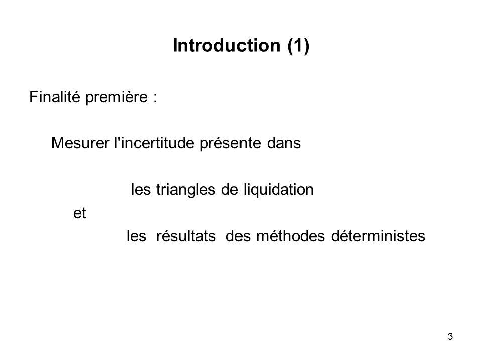 Introduction (1) Finalité première :