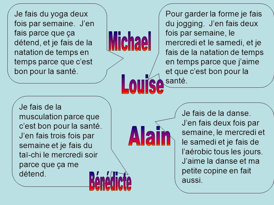 Michael Louise Alain Bénédicte