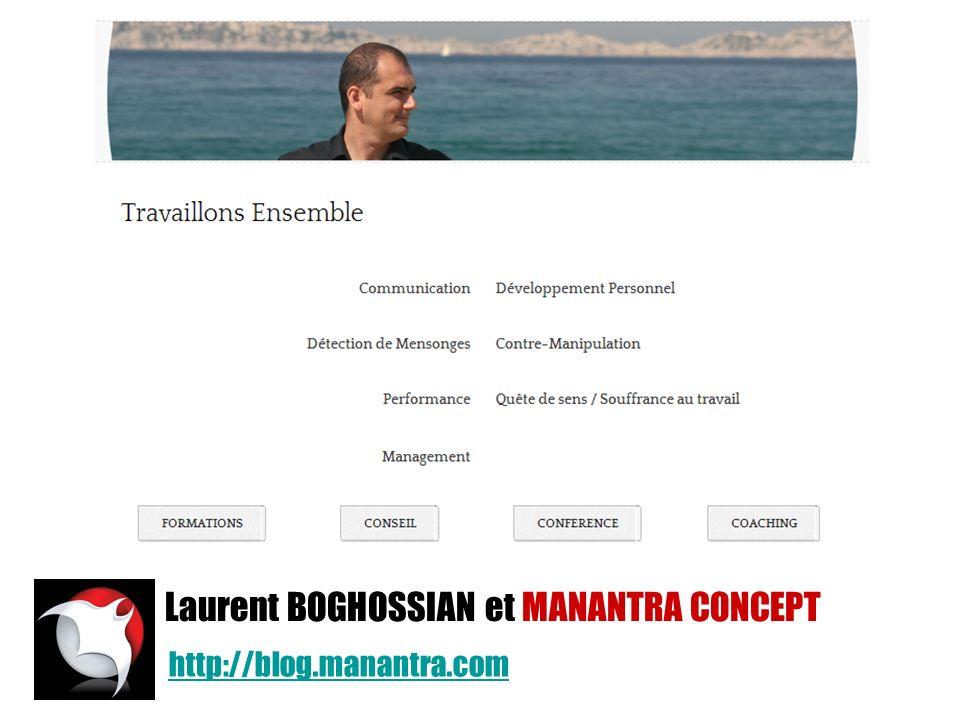 Laurent BOGHOSSIAN et MANANTRA CONCEPT