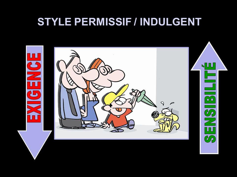 STYLE PERMISSIF / INDULGENT