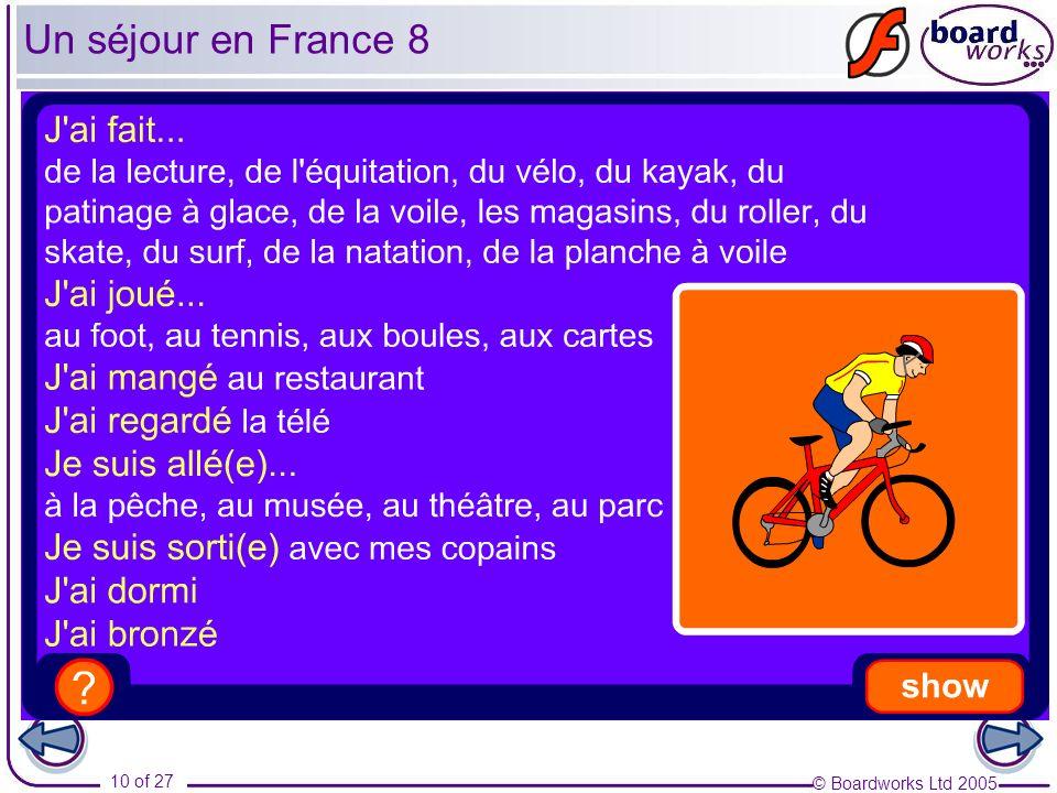 Un séjour en France 8