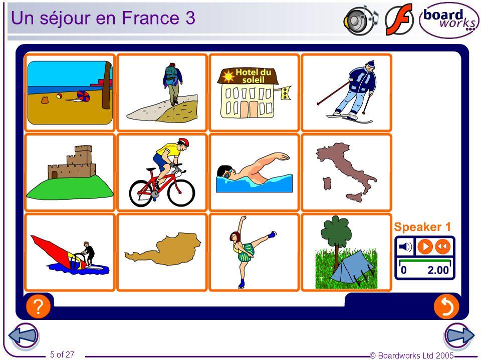 Un séjour en France 3 Transcript: