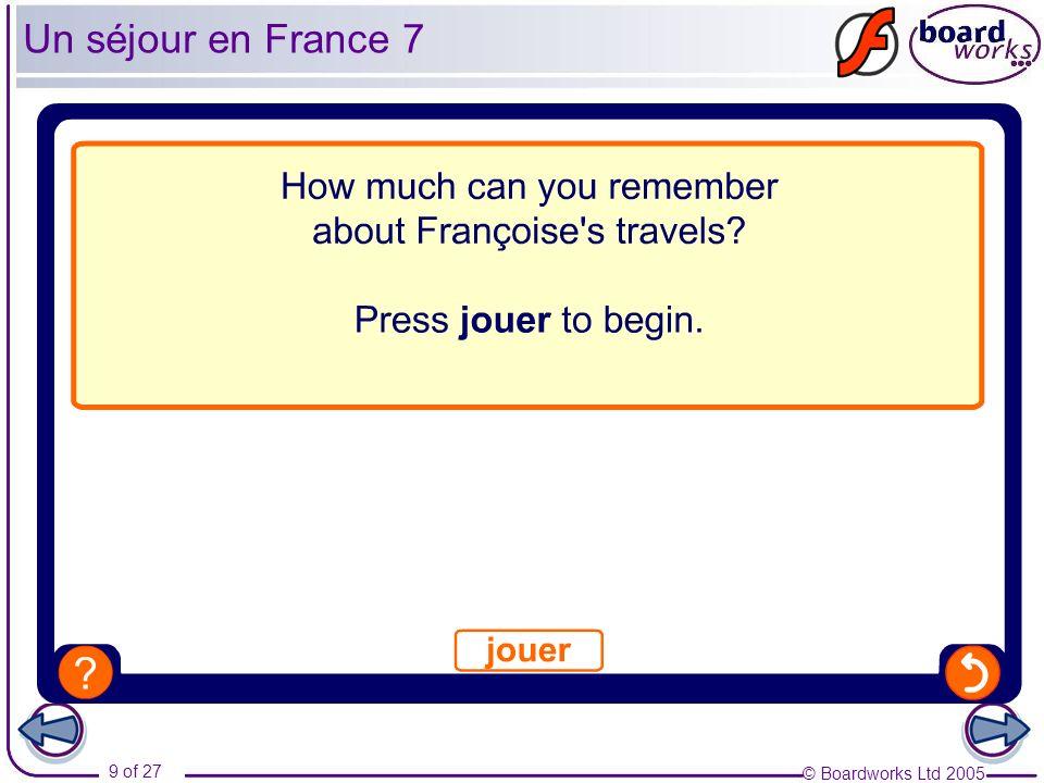 Un séjour en France 7