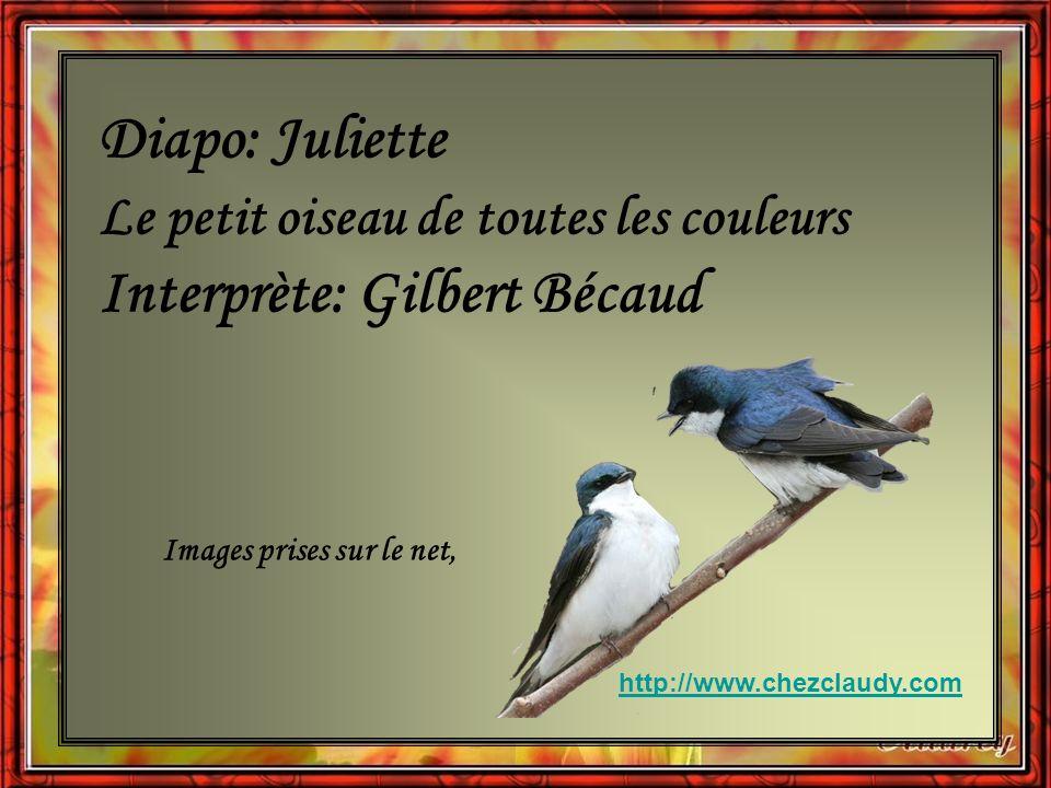 Interprète: Gilbert Bécaud