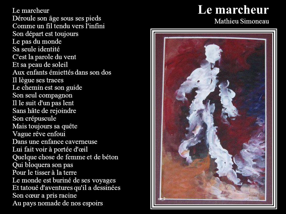 Le marcheur Mathieu Simoneau