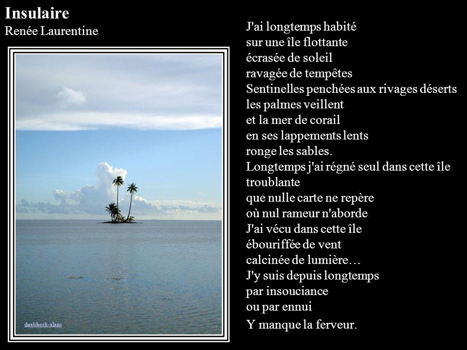 Insulaire Renée Laurentine.