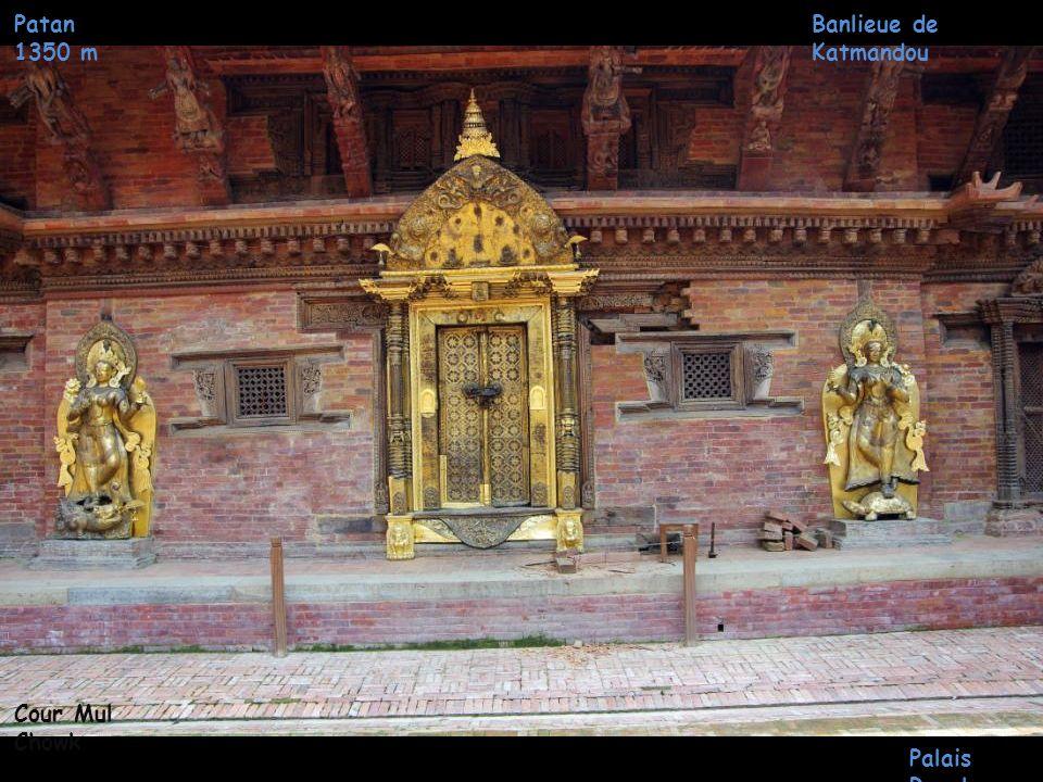 Patan 1350 m Banlieue de Katmandou Cour Mul Chowk Palais Royal