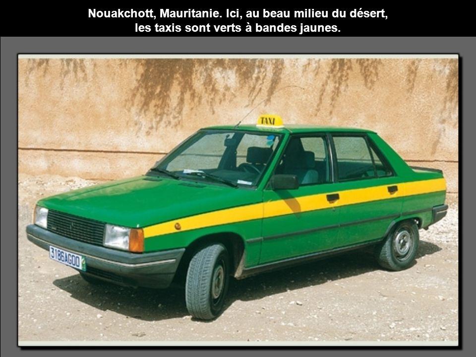 Nouakchott, Mauritanie. Ici, au beau milieu du désert,