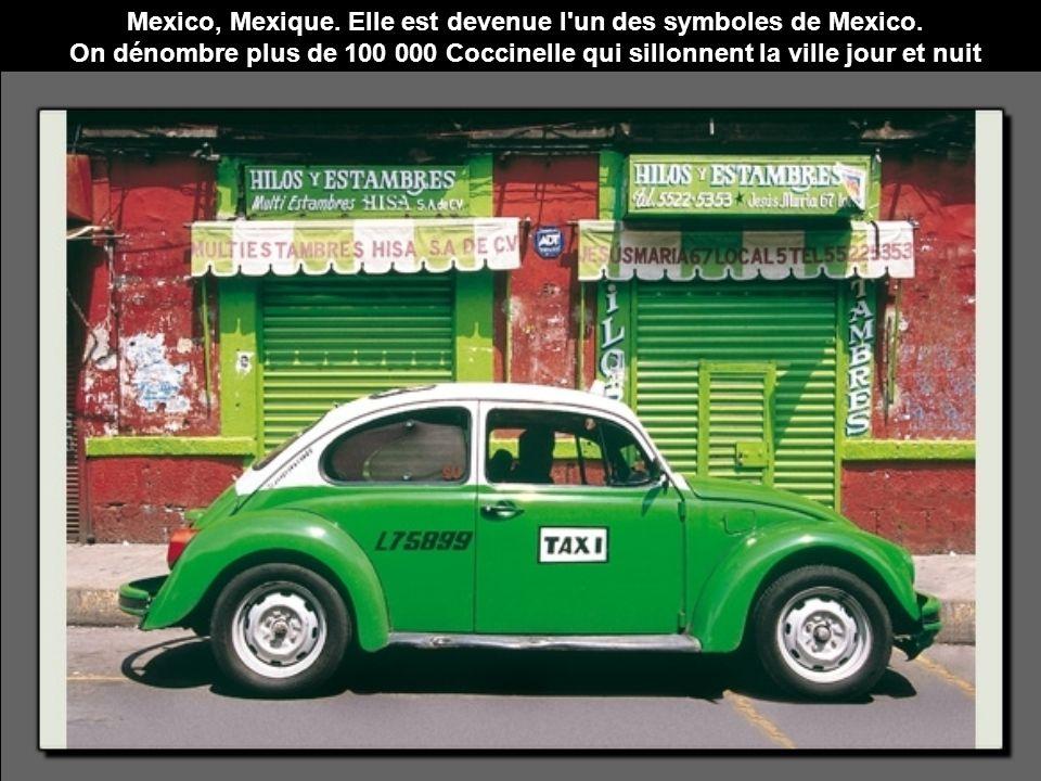 Mexico, Mexique. Elle est devenue l un des symboles de Mexico.