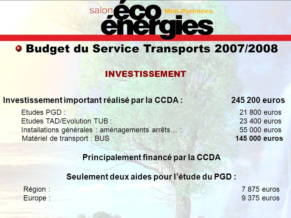 Principalement financé par la CCDA