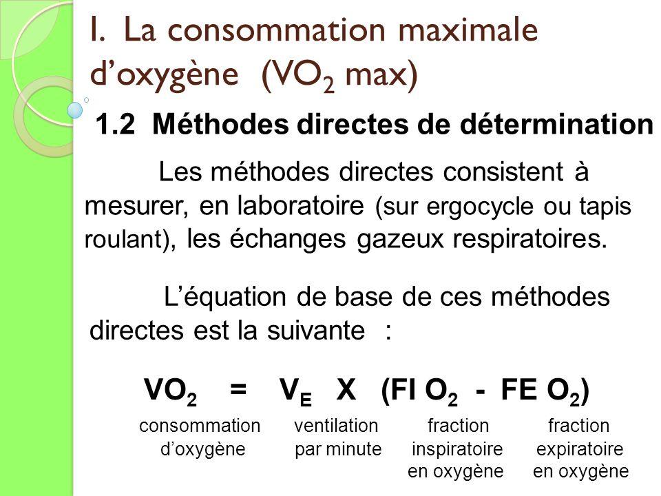 Valuation du m tabolisme a robie ppt t l charger - Test vo2max sur tapis roulant ...