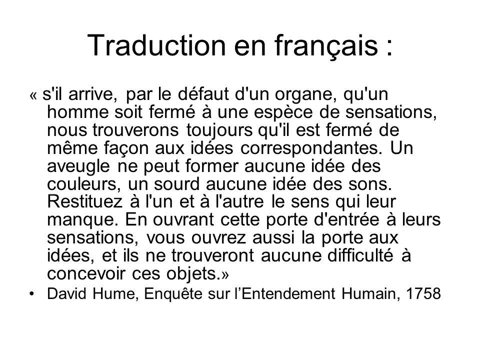 Traduction en français :