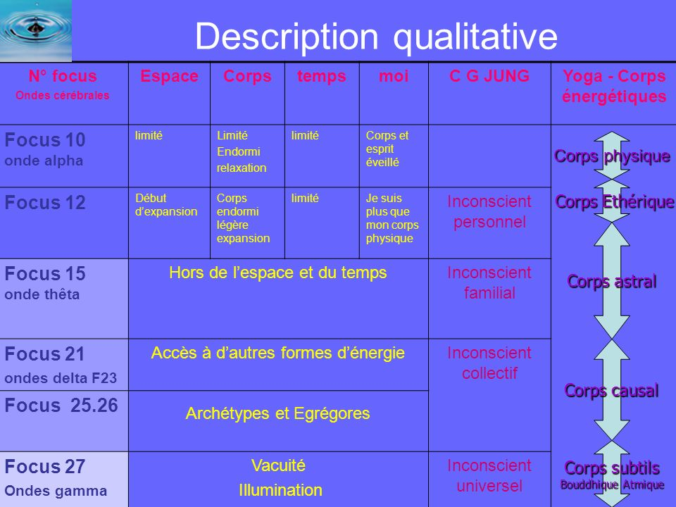 Description qualitative