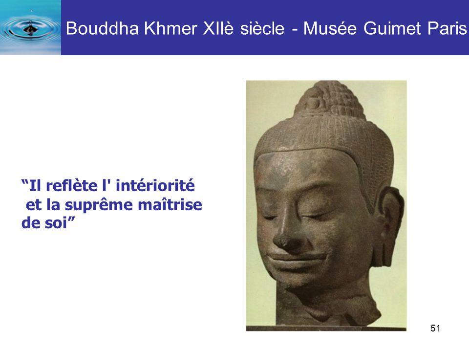 Bouddha Khmer XIIè siècle - Musée Guimet Paris