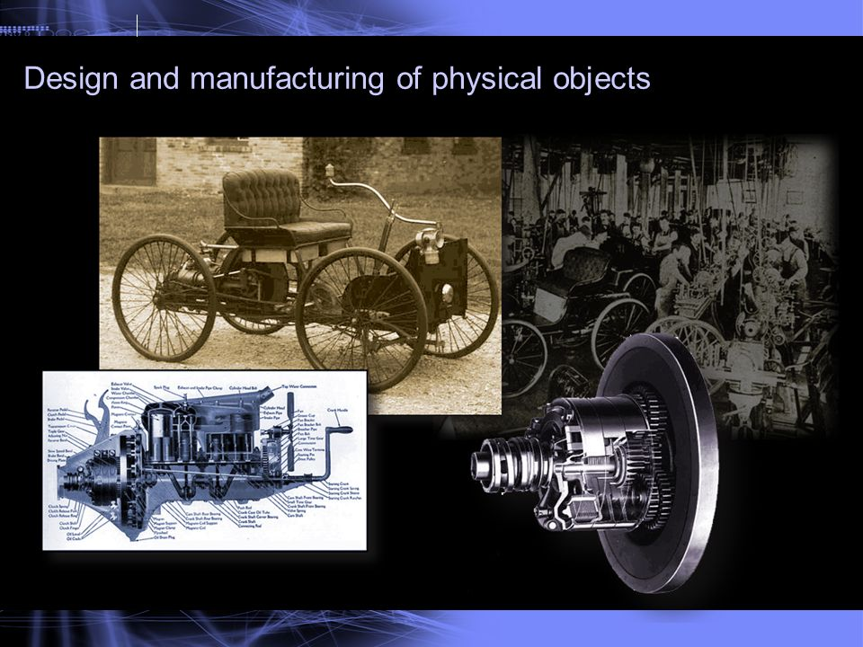 Design and manufacturing of physical objects