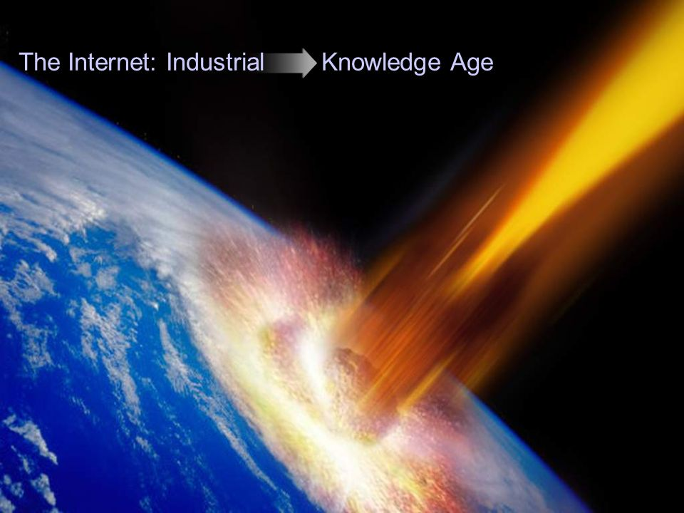 The Internet: Industrial Knowledge Age