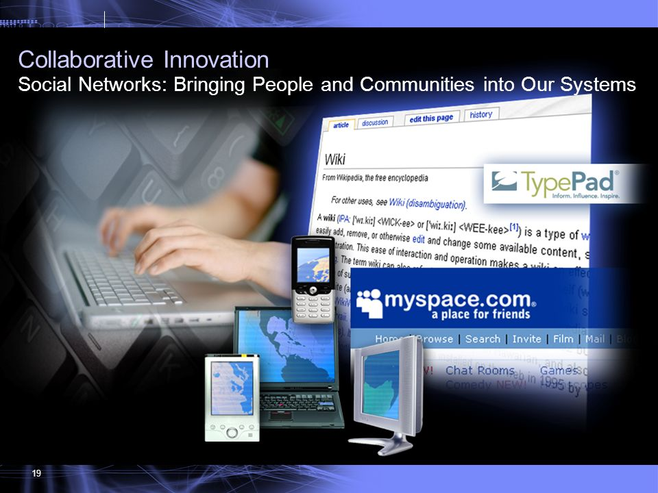 Collaborative Innovation Social Networks: Bringing People and Communities into Our Systems