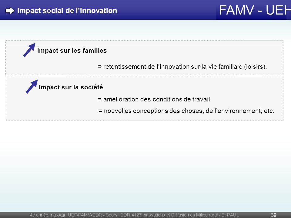 Impact social de l'innovation