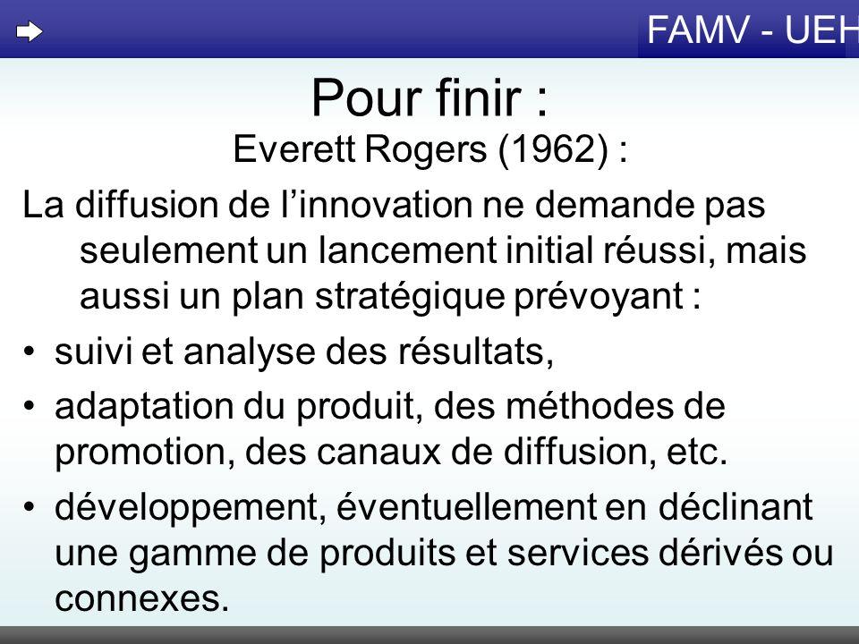 Pour finir : Everett Rogers (1962) :