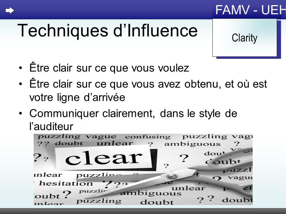 Techniques d'Influence