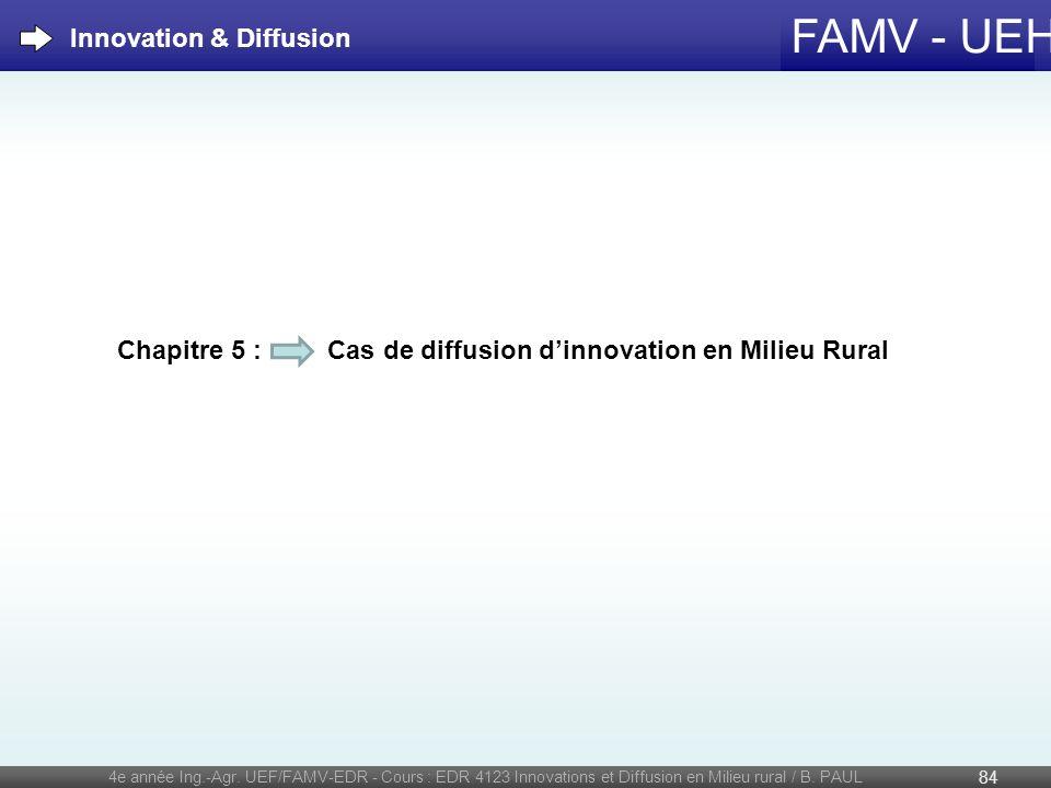 Innovation & Diffusion