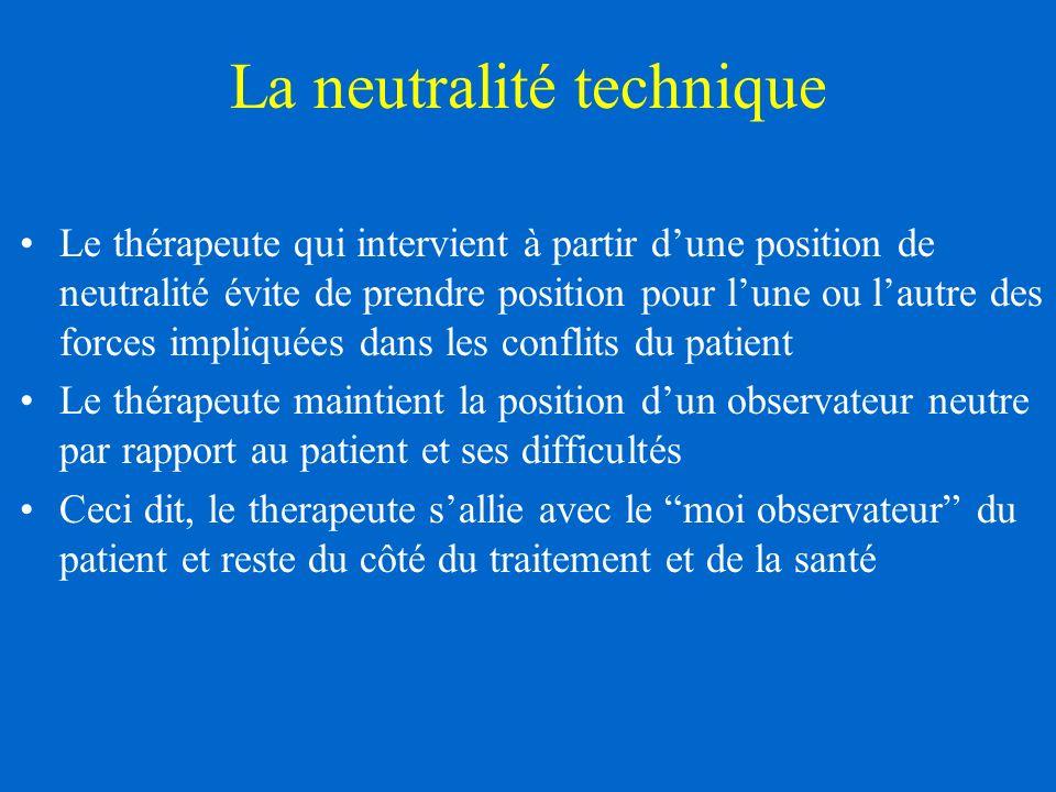 La neutralité technique