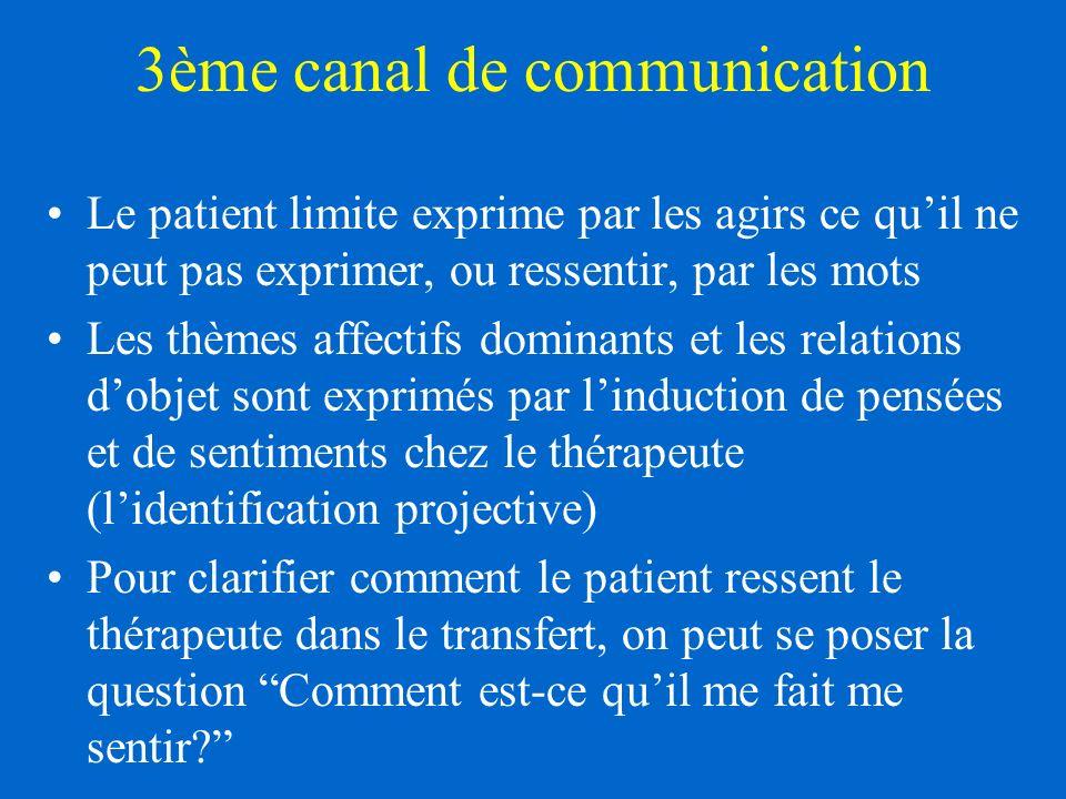 3ème canal de communication