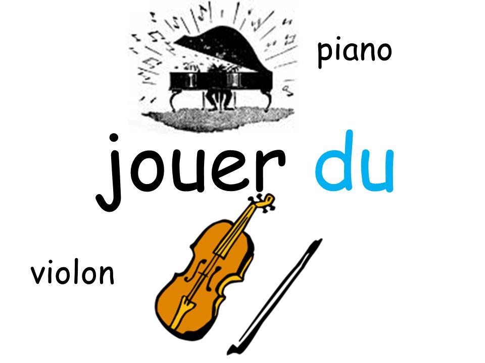 piano jouer du violon