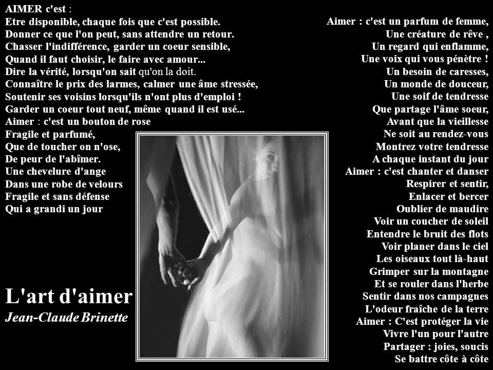 L art d aimer Jean-Claude Brinette