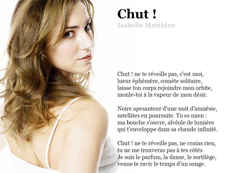 Chut. Isabelle Matthieu Chut