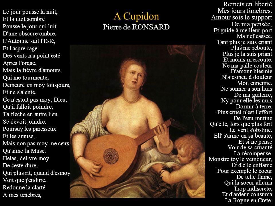 A Cupidon Pierre de RONSARD