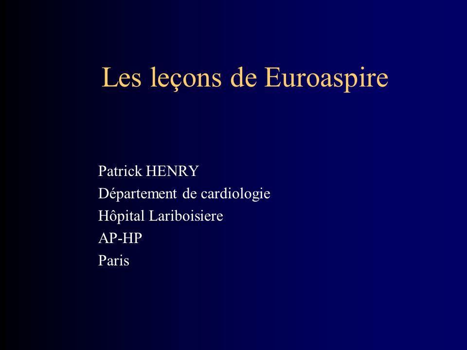 Les leçons de Euroaspire