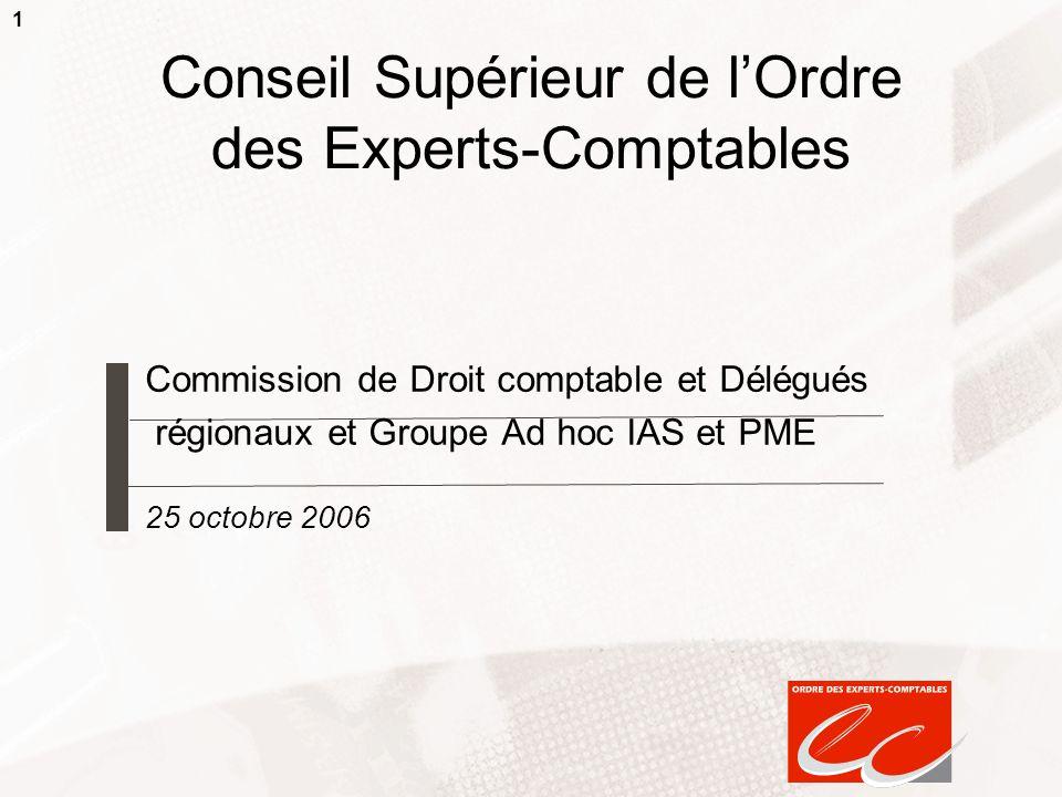 Conseil Supérieur de l'Ordre des Experts-Comptables