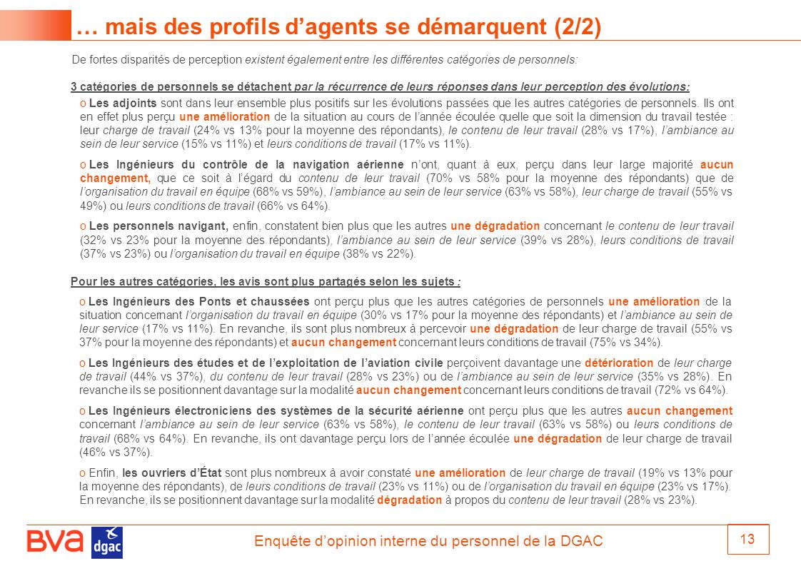 … mais des profils d'agents se démarquent (2/2)