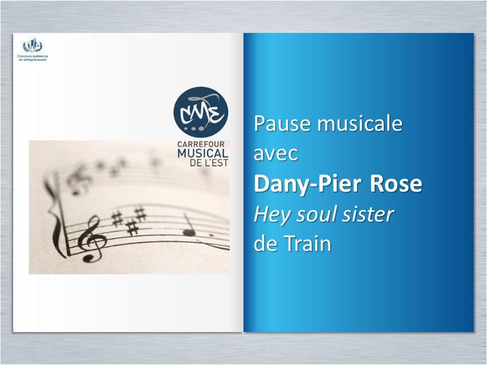 Pause musicale avec Dany-Pier Rose Hey soul sister de Train
