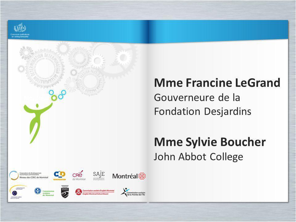 Mme Sylvie Boucher John Abbot College