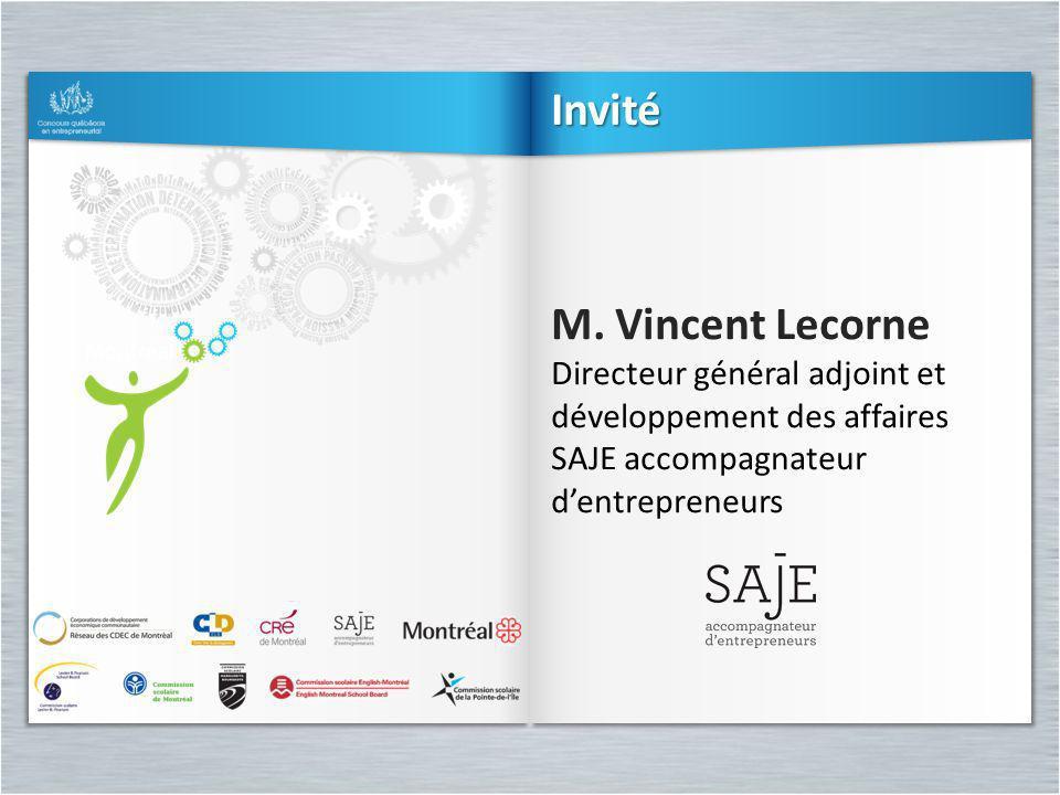 Invité M. Vincent Lecorne