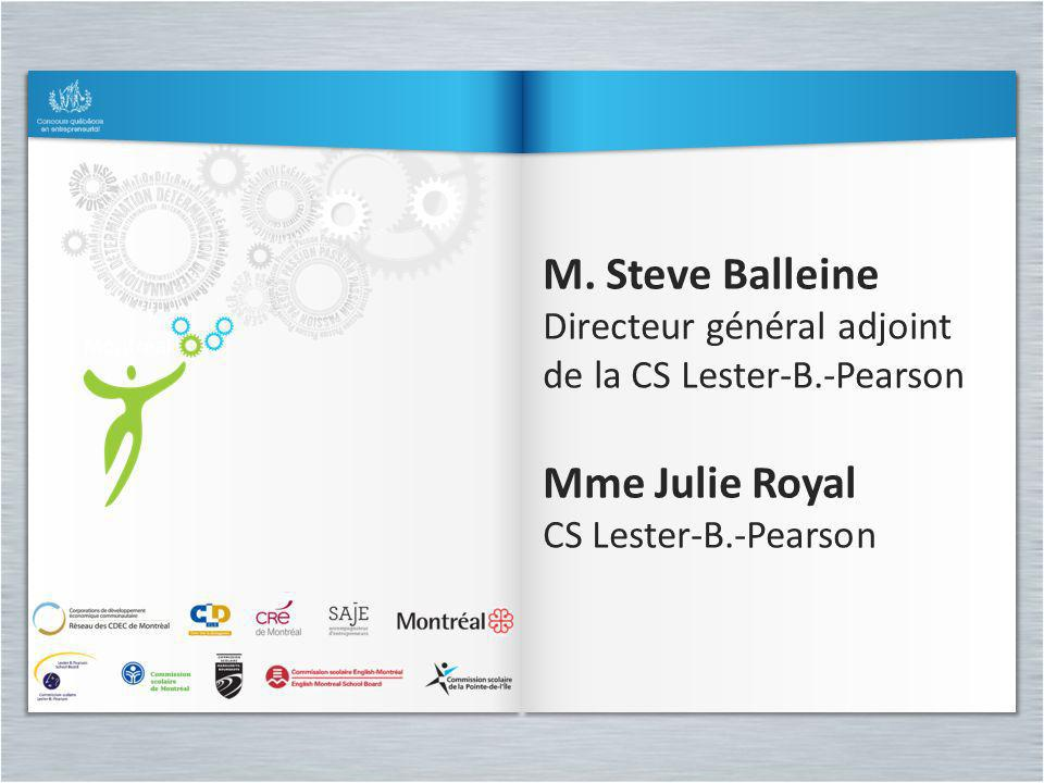 M. Steve Balleine Mme Julie Royal