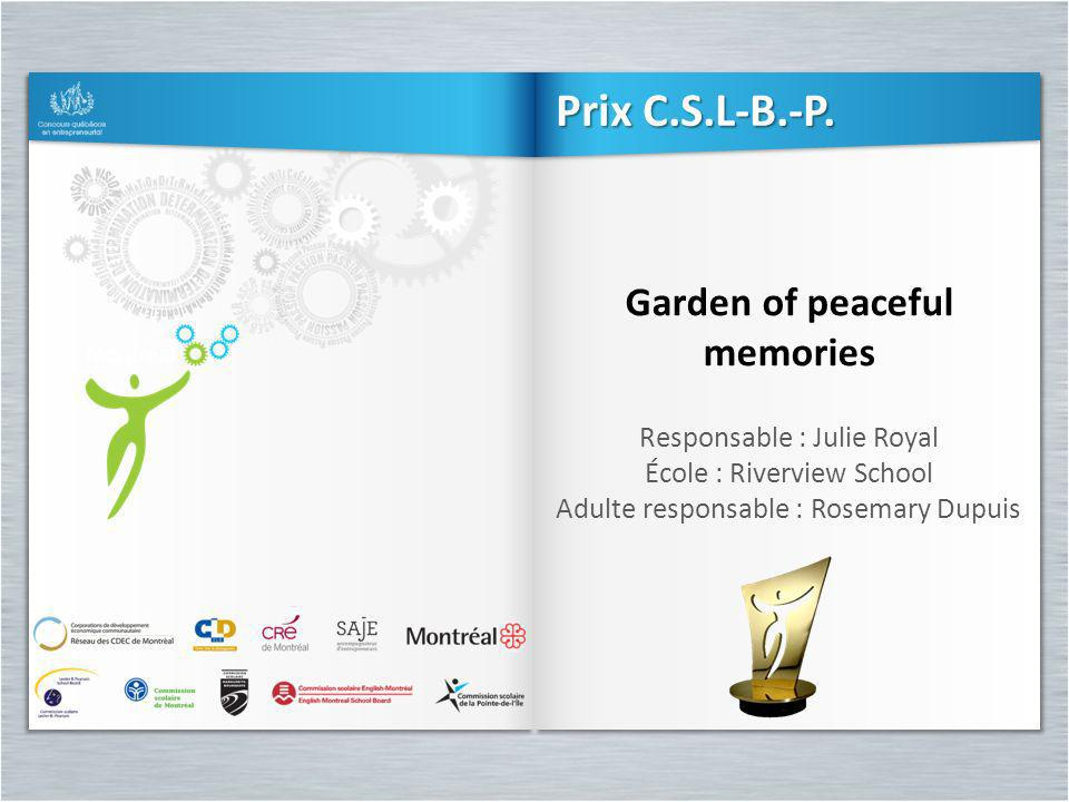 Garden of peaceful memories