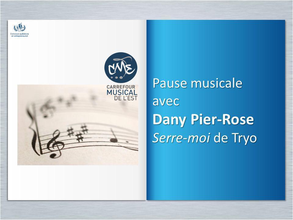 Pause musicale avec Dany Pier-Rose Serre-moi de Tryo