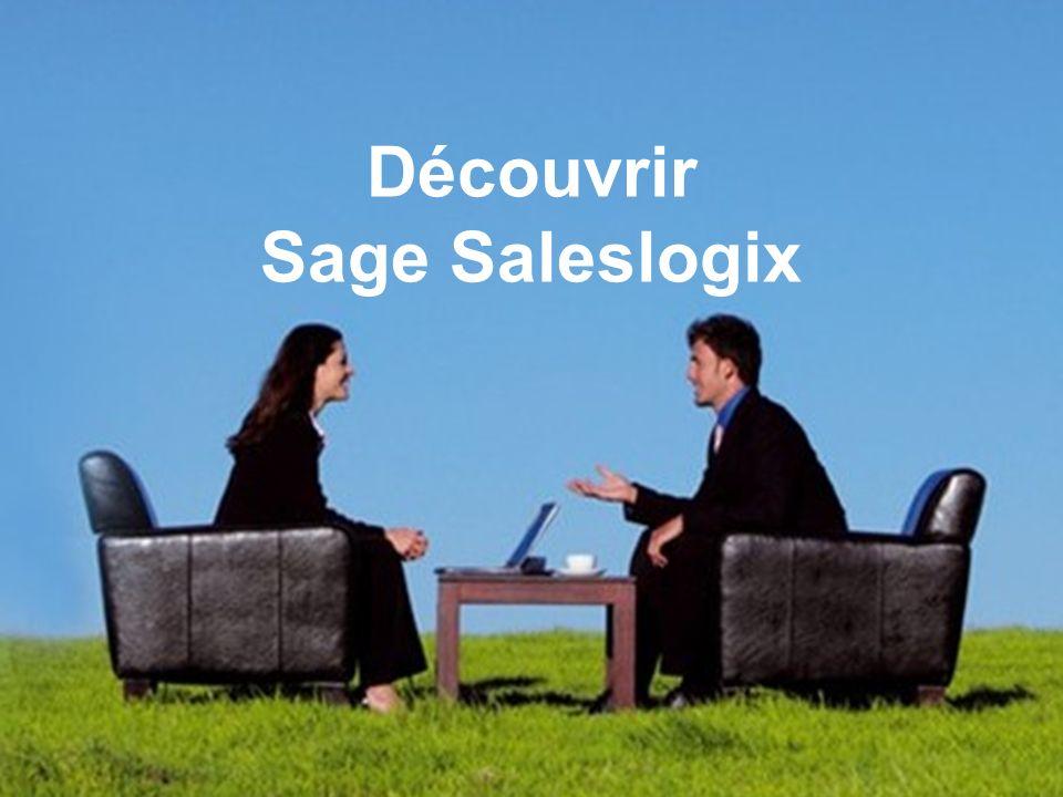 Découvrir Sage Saleslogix