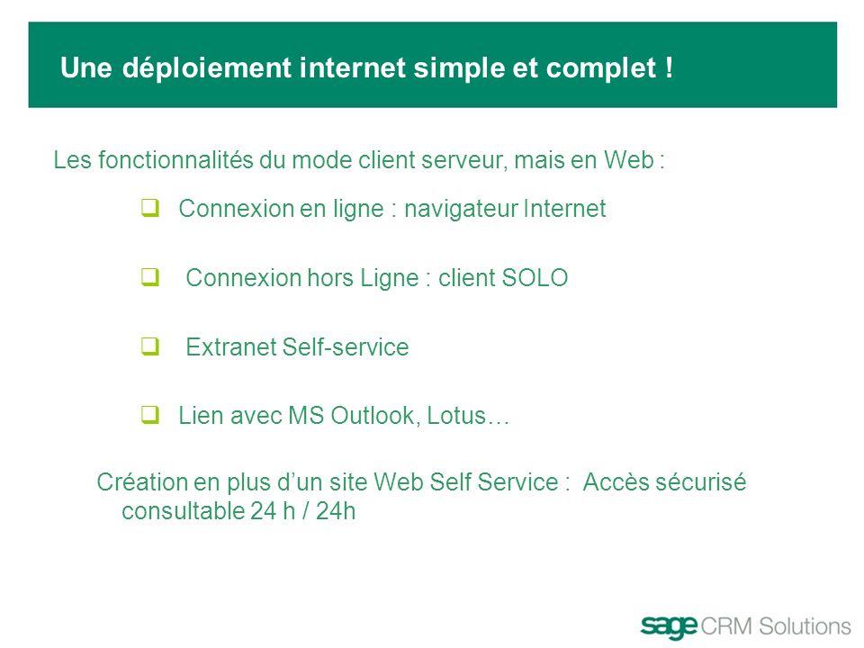 Une déploiement internet simple et complet !